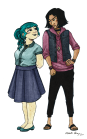 Shopkeeper & Assistant Character Exploration