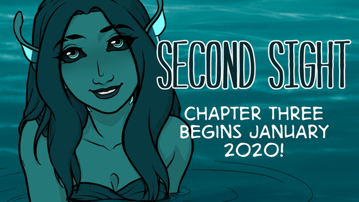 Second Sight - Chapter 3 begins January 2020